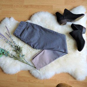 Free People Ombre Skinny Jeans, Gray to Taupe
